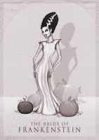 The Bride of Frankenstein by ThePea