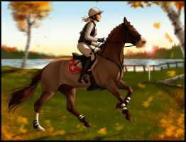 *Autumn Leaves Event Cross Country Entry* by NimbyNimb