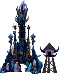 King Sombra's Crystal Castle by TheShadowStone