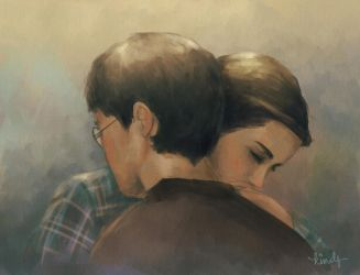 Harry And Hermione by kimpertinent