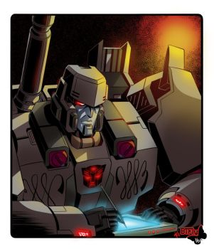Megatron writes... by TheButterfly