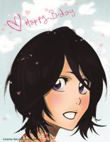 Happy Birthday Rukia! by PrincessTeppelin
