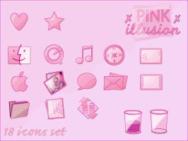 :: Pink Illusion :: by gwicons