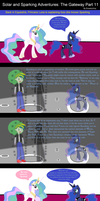Solar and Sparking Adventures: The Gateway Part 11 by EmoshyVinyl