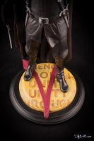 [GK painting #18] V for Vendetta statue - 011 by DasArt