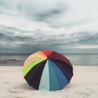 Colourful Beach by PhotoYoung