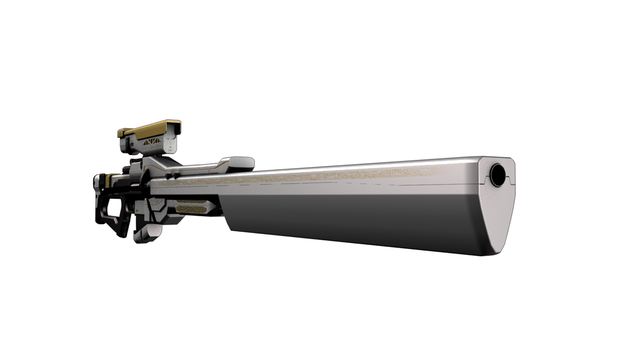 Destiny FAN-WEAPON Exotic Sniper Rifle by Chaokaze