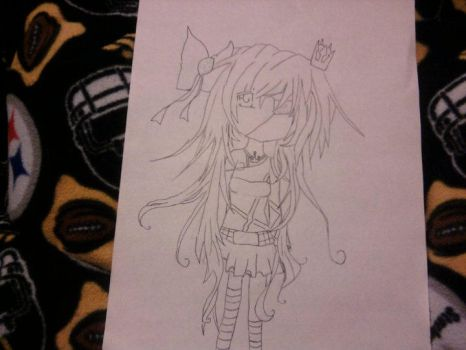 old drawing by tessie1011