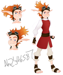 Human Daxter Sketches by Alex21346587
