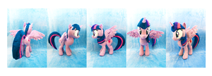 18 Inch Twilight Sparkle Plush by KazzysPlushEmporium