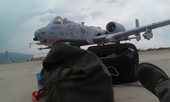 My A-10 by featherfoot07