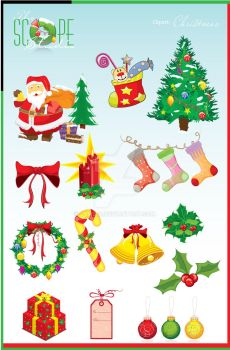 Clipart Series - christmas by sameer