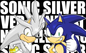 Sonic and Silver- 30000 Hit by ihearrrtme