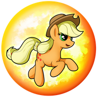 Applejack Orb by flamevulture17