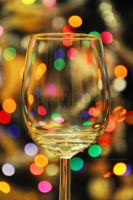 Glass of bokeh by fotografka