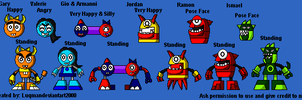 Mixels: The Cubit Squad sprite by Luqmandeviantart2000