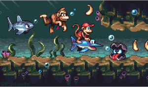 Donkey Kong Country by AlbertoV