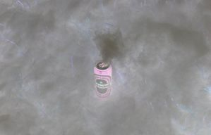 Smokin' beer, inverted by Datasmurf