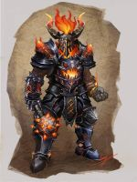 Molten Knight by Archalos