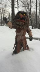 Sweetums in the SNow by jrartist1229