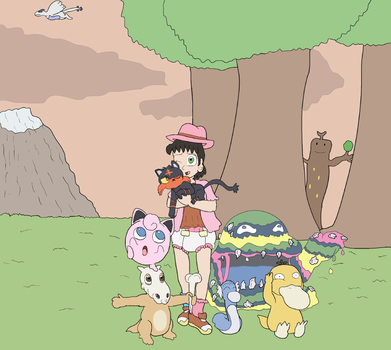 Trainer Erika Team by Lance-the-young