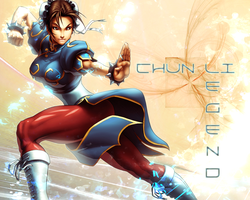 Chun Li Wallpaper 5 by CrossDominatriX5