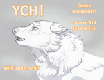 YCH! CANINE: CLOSED by HikariSilverEye