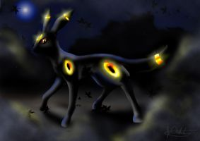 Umbreon by D34tHn0Te