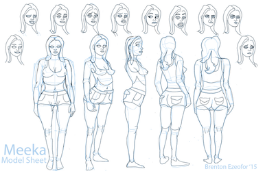Meeka Model sheet.jpg by EZENT