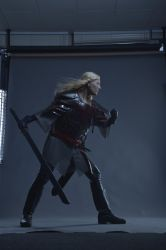 Fighting pose Eowyn - Stock by Miss-REdreaming