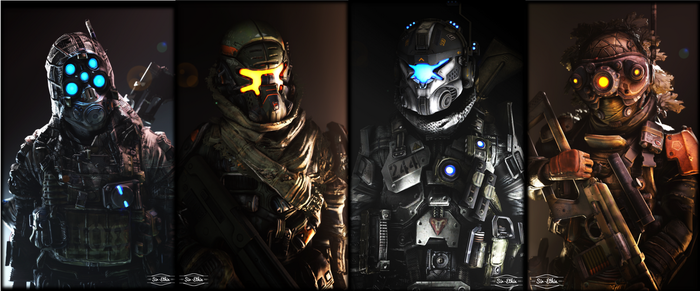 TitanFall IMC and M-COR by Sir-Ethin