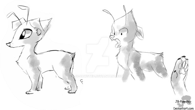 Celele sketches by JB-Pawstep
