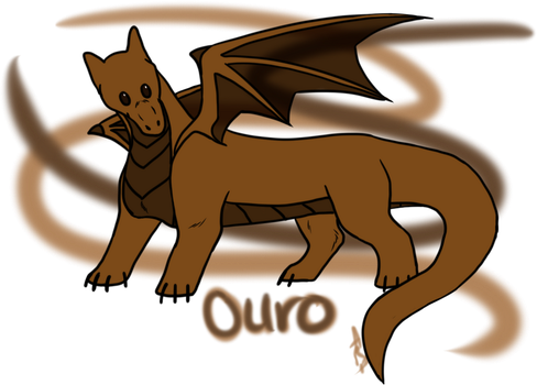 Ouro Ad Chibi by littlezombiesol