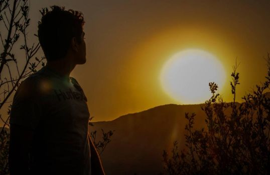 The boy and the sun. by Spremnik77