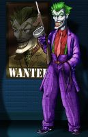 JOKER -- color by comicsINC