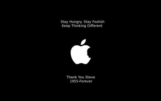 Stay Hungry. Stay Foolish by CriminalMasterbrain