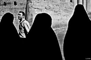 Silhouette of People by canbayram
