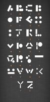 Conceal/Reveal: Morse Code Type by Abigail-Scott