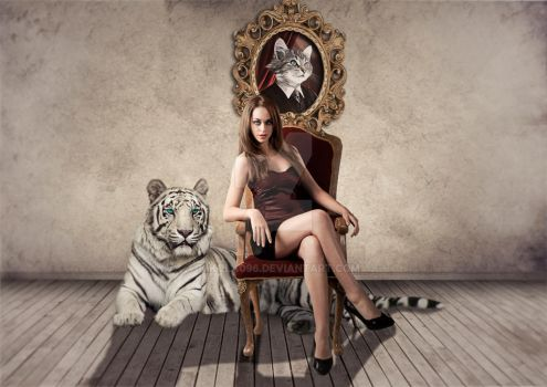 The lady and The Tiger by Nikola096