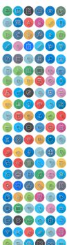 Flat Icons - Line Icons | FlatLineIcon by CURSORCH