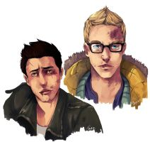 Mike and Chris by PhelRina