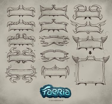 Faeria shape studies by Panperkin