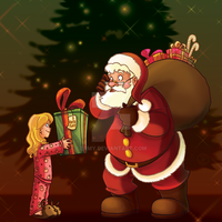 Merry Christmas Santa Claus by Ermy