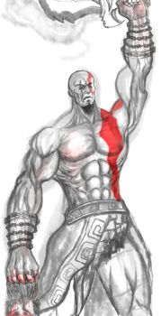 KRATOS by swordofdeath