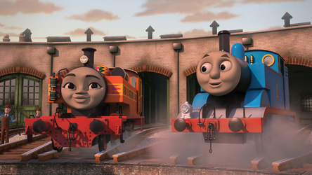 Nia's 1st Day on Sodor by RattlerJones