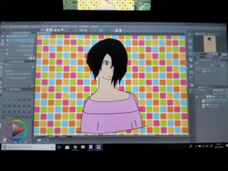 Test graphics tablet by SayaCipher