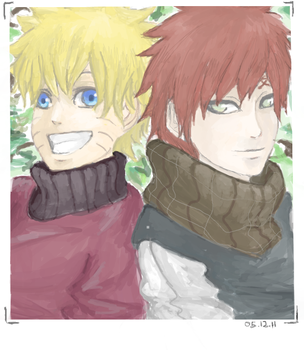 Photo with Gaara. by Ragginess