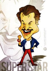 Rajnikanth - Caricature Series by libran005