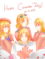 [APH Canada] Is ok once in a while, eh? by Chesle