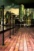 Darkened dock by Drucifer1978